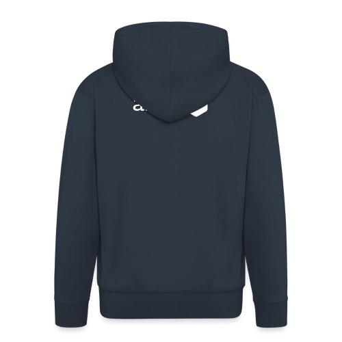 Le logo AFUP en blanc - Veste à capuche Premium Homme