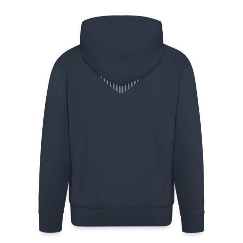 heart_striped.png - Men's Premium Hooded Jacket