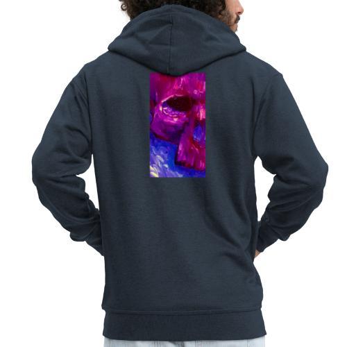 Purple Skull #2 - Mannenjack Premium met capuchon