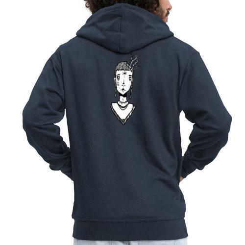 petit fée - Veste à capuche Premium Homme