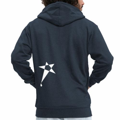 SWEATY STAR® Skateboarding Spread - Veste à capuche Premium Homme