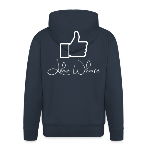 Like whore white - Premium Hettejakke for menn