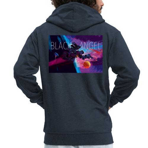 BLACK ANGEL COVER ART - Veste à capuche Premium Homme