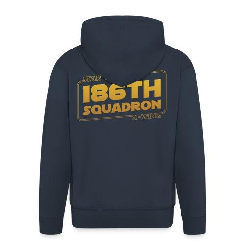 186 - Men's Premium Hooded Jacket