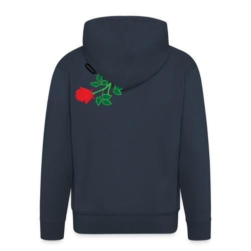 OnEyed Roses - Mannenjack Premium met capuchon