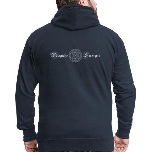 Magiche Energie logos - Felpa con zip Premium da uomo
