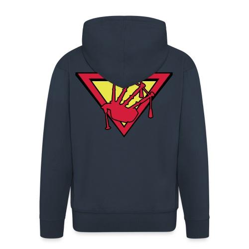 super piper alt - Men's Premium Hooded Jacket
