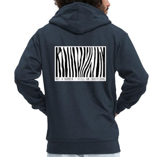 not a number... still an individual - Männer Premium Kapuzenjacke