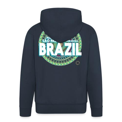 Lemon Brazil Mandala - Veste à capuche Premium Homme