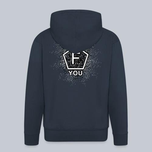 F... YOU - Männer Premium Kapuzenjacke