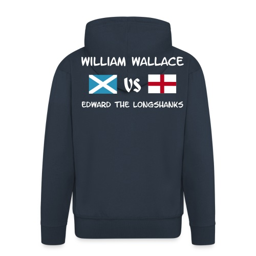 William vs Edward W - Männer Premium Kapuzenjacke