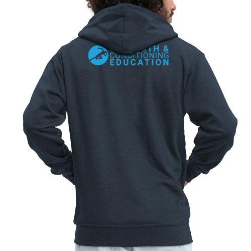 STRENGTH & CONDITIONING EDUCATION - Men's Premium Hooded Jacket