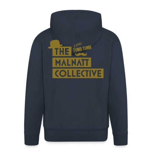 collective serigrafia - Men's Premium Hooded Jacket