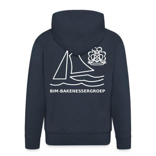 BIM Logo - Mannenjack Premium met capuchon