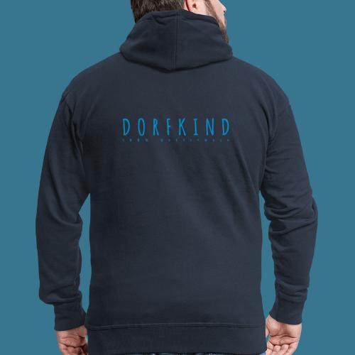Dorfkind- 100% Westerwald. - Männer Premium Kapuzenjacke