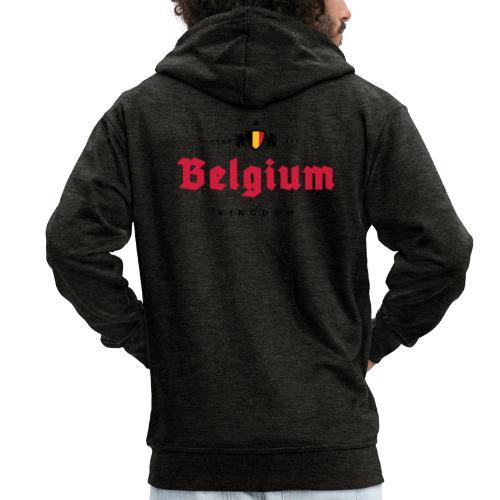 Bierre Belgique - Belgium - Belgie - Veste à capuche Premium Homme