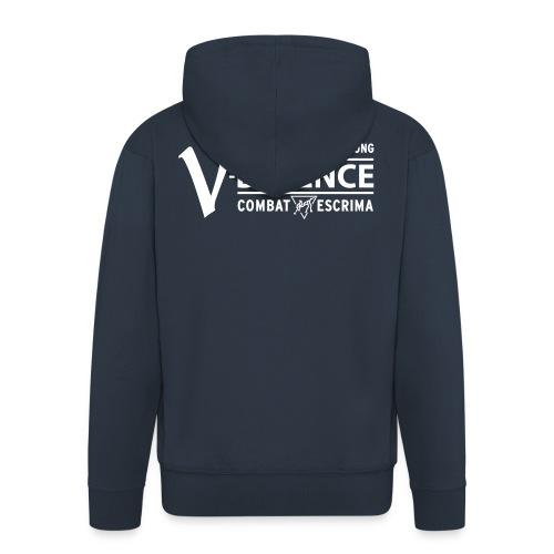 v defence logo pfade - Männer Premium Kapuzenjacke