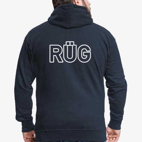 RÜG_140%_Vektor_Outline_ - Männer Premium Kapuzenjacke
