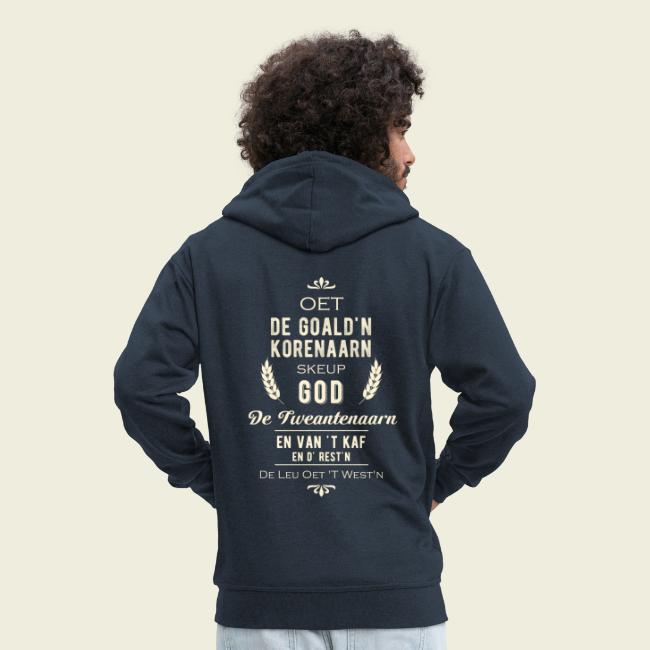 Oet de goald'n korenaarn skeup God de Tweantenaarn