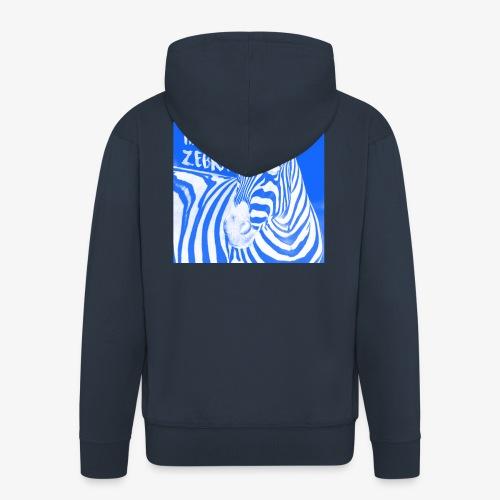 happy zebra - Veste à capuche Premium Homme