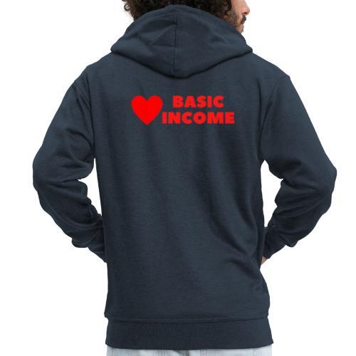basic income red trans - Mannenjack Premium met capuchon