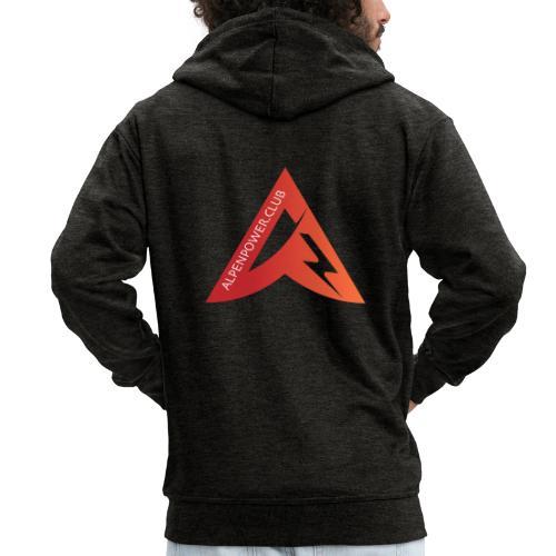 logo alpenpower - Männer Premium Kapuzenjacke