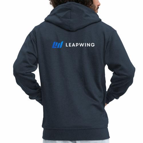 Leapwing logo - Men's Premium Hooded Jacket
