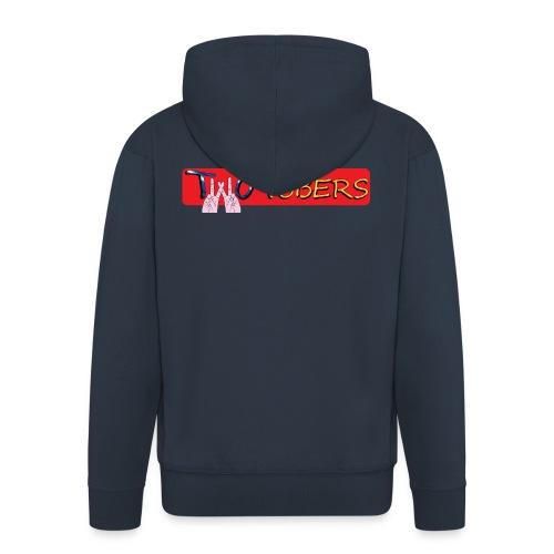 Orsetto TWOTUBERS - Felpa con zip Premium da uomo