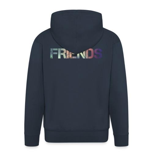 FRIENDS - Chaqueta con capucha premium hombre