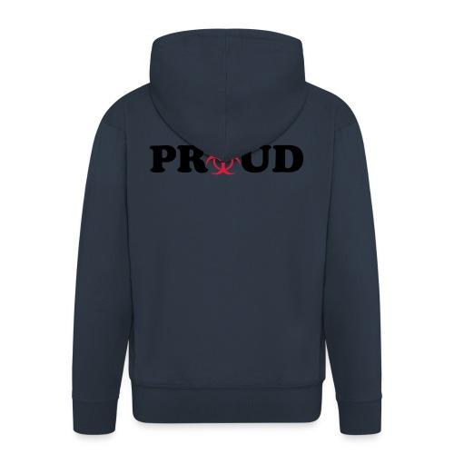 POZ Proud - Männer Premium Kapuzenjacke