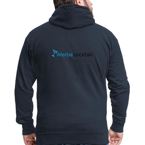WerbeCocktail - Logo Version 1 - Männer Premium Kapuzenjacke