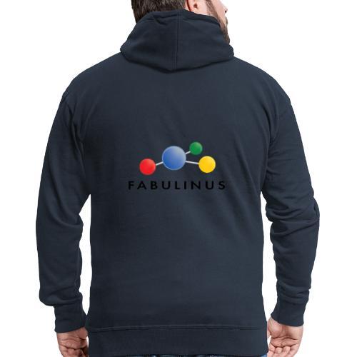 Fabulinus logo enkelzijdig - Mannenjack Premium met capuchon