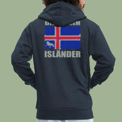 Die mit dem Isländer - Männer Premium Kapuzenjacke