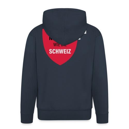 Neutral wie die Schweiz - Männer Premium Kapuzenjacke