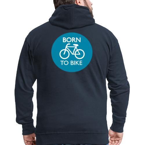 Born To Bike - Männer Premium Kapuzenjacke