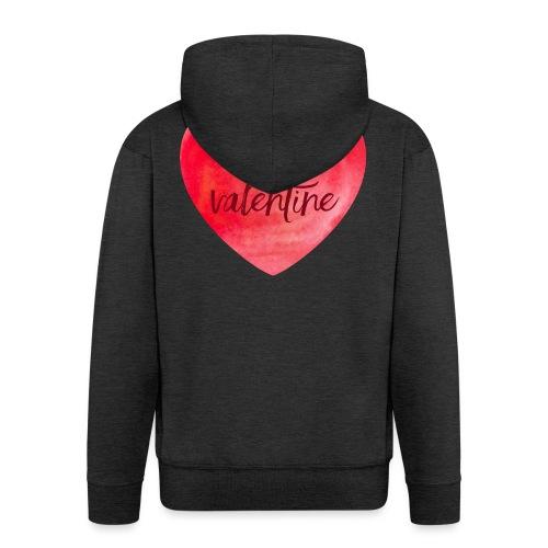 Cœur st.valentin - Veste à capuche Premium Homme