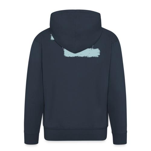 nieobcy domyślny - Rozpinana bluza męska z kapturem Premium