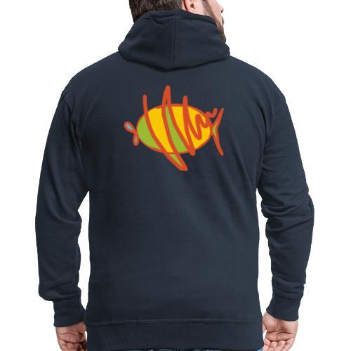 fish - Männer Premium Kapuzenjacke