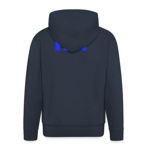 NEARER logo - Men's Premium Hooded Jacket