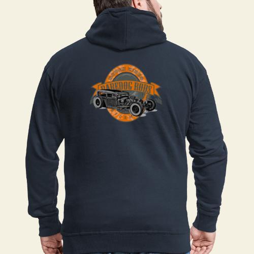 Raredog Rods Logo - Herre premium hættejakke
