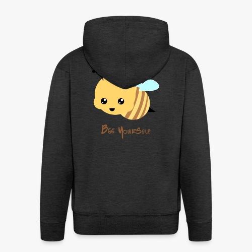 Bee Yourself - Herre premium hættejakke