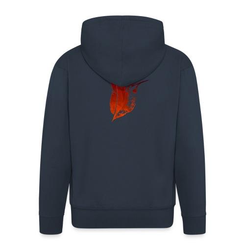 Colibri flamboyant - Veste à capuche Premium Homme