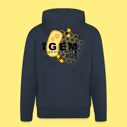 Logo - shirt men - Mannenjack Premium met capuchon