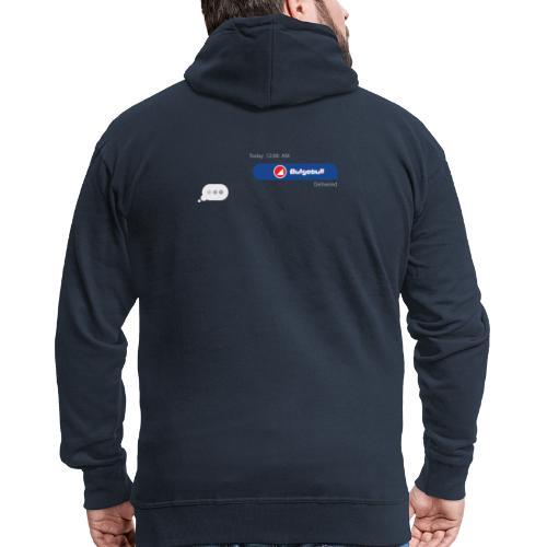 BULGEBULL TEXT - Men's Premium Hooded Jacket