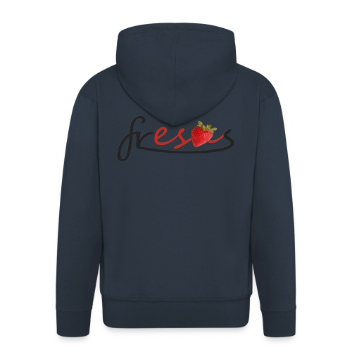 fresa - Chaqueta con capucha premium hombre