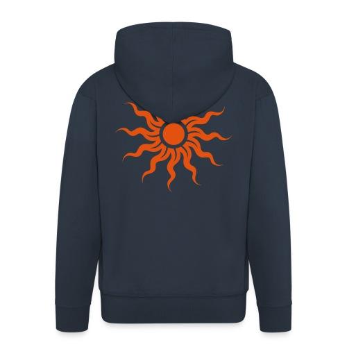 Golden Sun - Sonne - Männer Premium Kapuzenjacke