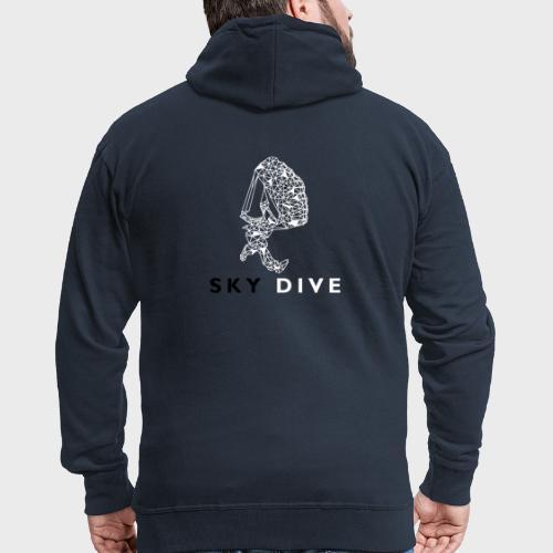 Skydive Triangle - Männer Premium Kapuzenjacke