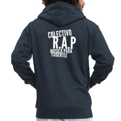 SOLO PARA AMANTES DEL RAP// Colectivo R.A.P - Chaqueta con capucha premium hombre