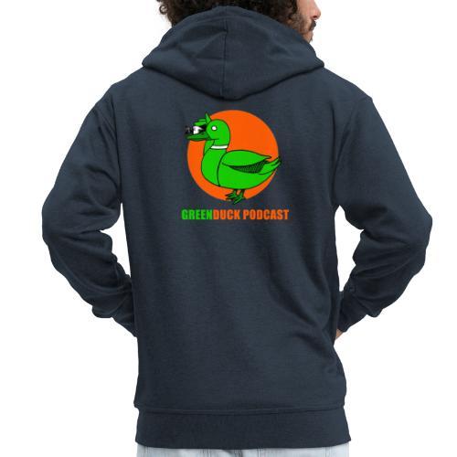Greenduck Podcast Logo - Herre premium hættejakke