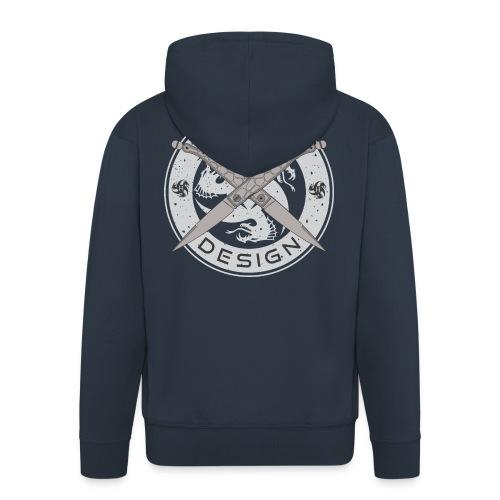 Hydra Design Roman Knives - Men's Premium Hooded Jacket